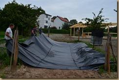 Bauarbeiten im August 017